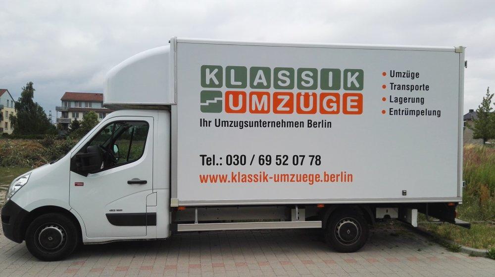Umzüge Berlin Spandau umzugsunternehmen berlin klassik umzugsservice
